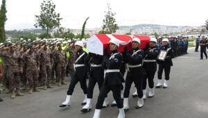 Şehit Polis Ali Ulaş için cenaze töreni düzenlendi