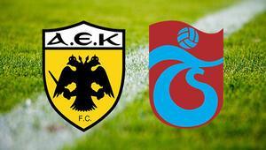 AEK Trabzonspor maçı ne zaman