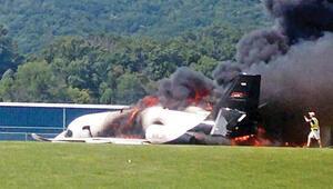 Ünlü Nascar pilotu ve ailesi ölümden döndü