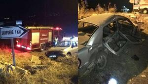 Edirne'de trafik kazası: 1 kişi öldü, 6 kişi yaralandı