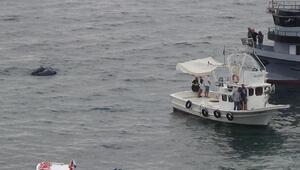 Sinopta karaya oturan gezi teknesi kurtarıldı