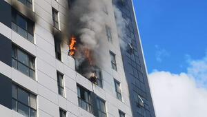 Son dakika: Ümraniyede korkutan yangın
