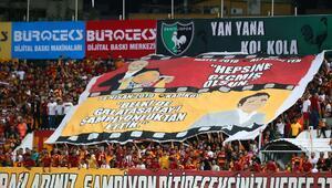 Denizlide olay pankart Fenerbahçe...