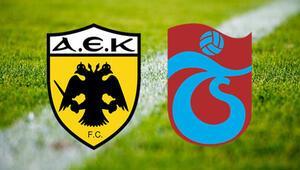 AEK Trabzonspor maçı ne zaman saat kaçta ve hangi kanalda Play-off heyecanına geri sayım