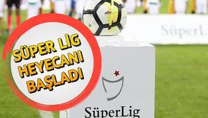Süper Lig  heyecanı başladı.. İşte ligin ilk hafta maçları
