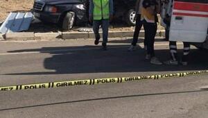 Gölovada iki otomobil çarpıştı: 1 ölü, 4 yaralı