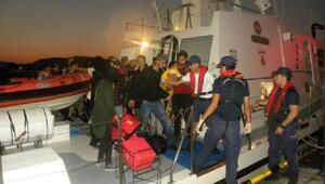 Dikilide 202 kaçak göçmen yakalandı