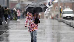 Bugün yağmur yağacak mı Nerelerde yağmur yağacak