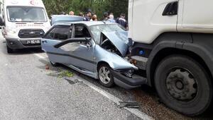 Kazada yaralanan kadın hastanede öldü