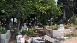 Reyhanlıdaki mezarlıktaki tahribatla ilgili 6 kişi gözaltına alındı