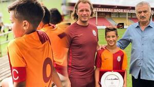 Hakan Baltanın oğlu Bayern Münihe transfer oldu