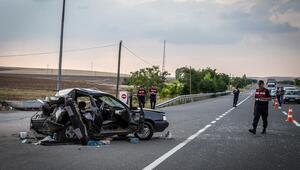 Zincirleme kazada  3'ü ağır 5 yaralı