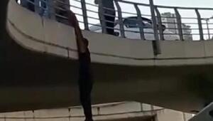 İzmirde intihar girişimi