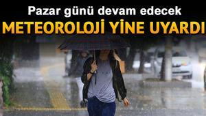 Yarın yağmur yağacak mı 18 Ağustos Meteoroloji hava durumu raporu