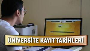 Üniversiteler ne zaman açılıyor E-Kayıtlar ne zaman bitecek