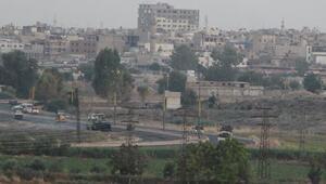 YPGli teröristlerin Suriyedeki hareketliliği görüntülendi