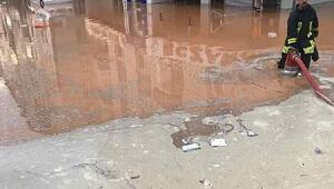 Kırşehirde dolu ve yağmur etkili oldu