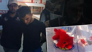 Oyuncak ayı içerisindeki bomba ile yakalanmışlardı... Tutuklandılar