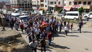 Şemdinlideki patlamada hayatını kaybeden Sezer Sönmez toprağa verildi