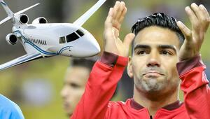 Falcao özel jetle geliyor | Galatasaray Transfer Haberleri