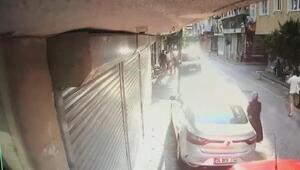 Zeytinburnuda 1 kişinin öldüğü bıçaklı kavga kamerada