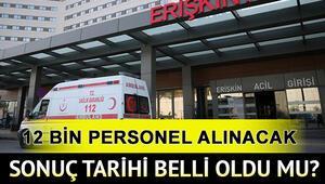 Sağlık Bakanlığı personel alımı başvuru sonuçları ne zaman açıklanacak
