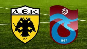 Play- off AEK Trabzonspor maçı ne zaman saat kaçta hangi kanalda