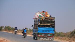 İdlib Gerginliği Azaltma Bölgesinde zorunlu göç sürüyor