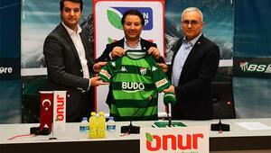 Onur Marketten Bursaspora sponsor desteği