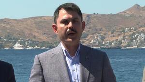 Bakan Kurumdan Muğladaki otel inşaatıyla ilgili açıklama