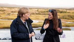 Thingvellir Milli Parkı'nı gezdi