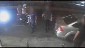 Aksarayda 1 kişinin öldüğü 3 kişinin yaralandığı gece kulübü saldırısı kamerada