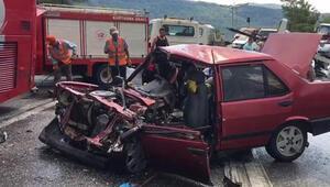 Antalyada feci kaza: Yaralılar var...