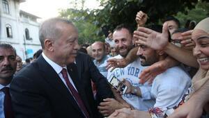 Cumhurbaşkanı Erdoğan Marmara Üniversitesi Rektörlüğünü ziyaret etti