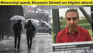 Meteorolojiden son dakika hava durumu uyarısı: Marmarada kuvvetli yağış, Karadenizde sel riski...