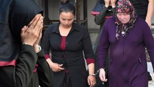 Genç kızın çığlıkları üzerine kaçan 3 kadın böyle yakalandı