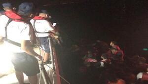 İzmirde 49 kaçak göçmen yakalandı