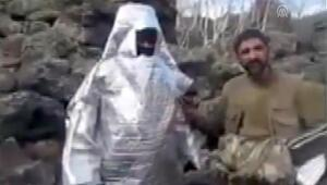 'Pusucu' terörist, jandarmanın pususuna düştü PKKlıların şoke eden görüntüleri...