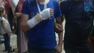 Maganda kurşunun hedefi olan genç yaralandı