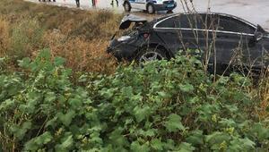 Kırıkkalede otomobil şarampole devrildi: 1 yaralı