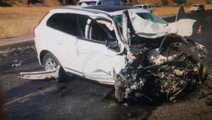 Ağrıda trafik kazası: 2 ölü, 1 yaralı