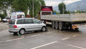 Karabükte trafik kazası: 7si aynı aileden 8 kişi yaralandı