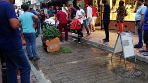 Balkonda oynarken 3. kattan düşen Suriyeli çocuk ağır yaralandı