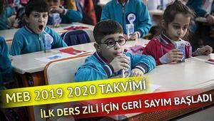 Okullar ne zaman açılacak MEB 2019 2020 takvimi
