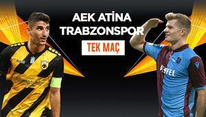Trabzonspor, Atinadan avantajlı skorla dönebilecek mi Rakip AEK, iddaada TEK MAÇ...