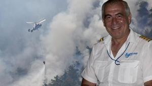 İzmir yangınında görev yapan kahraman pilotun ölü bulunmasıyla ilgili Bakandan açıklama