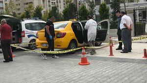 Şişlide taksici dehşeti yaşadı