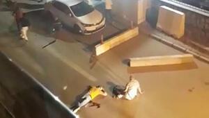 Karakolda barıştılar, çıkışta kavga ettiler: 2 kişi öldü, 5 kişi yaralandı O anlar kamerada