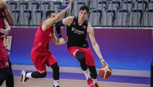 A Milli Basketbol Takımı, Çindeki ilk antrenmanını yaptı