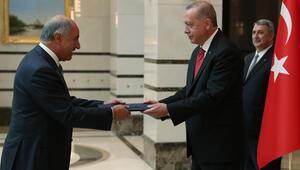 4 ülkenin büyükelçisi Cumhurbaşkanı Erdoğan'a güven mektubu sundu